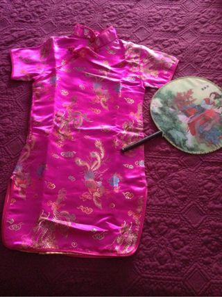 Disfraz de chinita niña