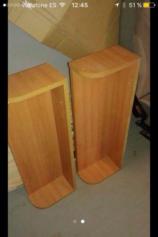 Estanterias de madera