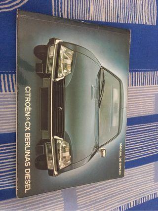 Manual cx berlinas diesel