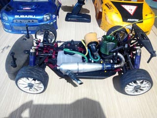 coche rc 1/8 rally game