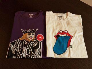 Camisetas Jart talla S usadas skate lote 2