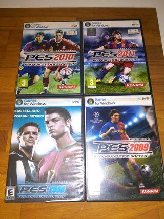 Pes 2008,2009,2010,2011