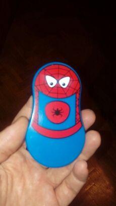 6 Tiradores Spiderman