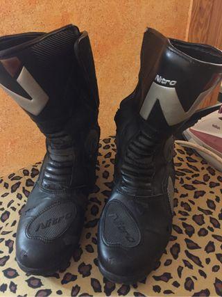 Botas de moto nitro
