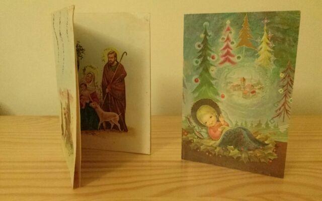 Felicitaciones Antiguas Navidad.Felicitaciones De Navidad Antiguas De Segunda Mano Por 6