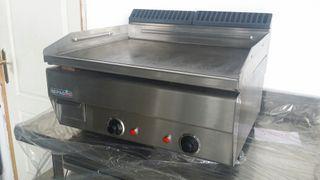 Plancha industrial de cocina electrica