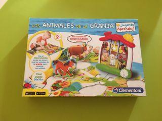 Puzzle los animales de la granja