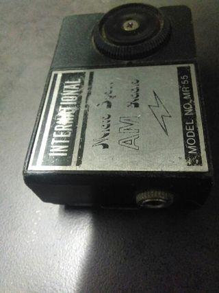 radio am muy antigua