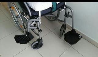 silla ruedas con cojinete