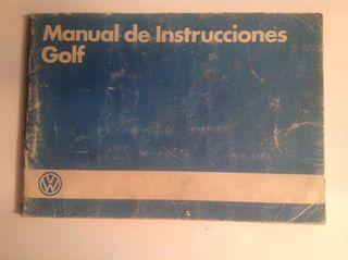 Manual Instrucciones Golf MK2