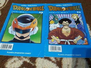 cómics dragon ball serie azul.