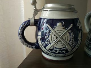jarra cerveza ceramica