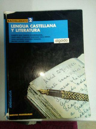 Libro Bachillerato Lengua Castellana y Literatura