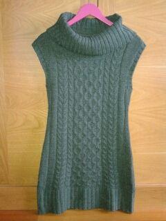 Vestido verde. Talla 40 - 42