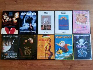 10 películas DVD