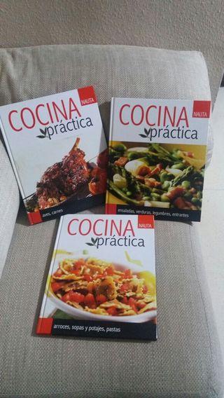 Libros practicas de cocina
