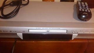 dvd con mando a distancia