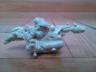 Warhammer. Motorista futurista.
