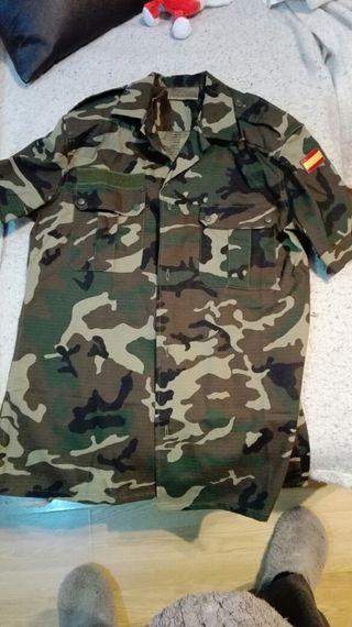 camisa militar boscoso