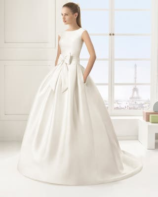 vestido de novia rosa clara de segunda mano en córdoba en wallapop