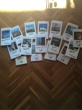 Lote de Guias de viaje de VECISA