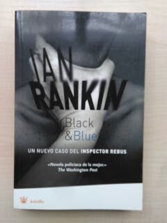 Libro Black & Blue. Ian Rankin.