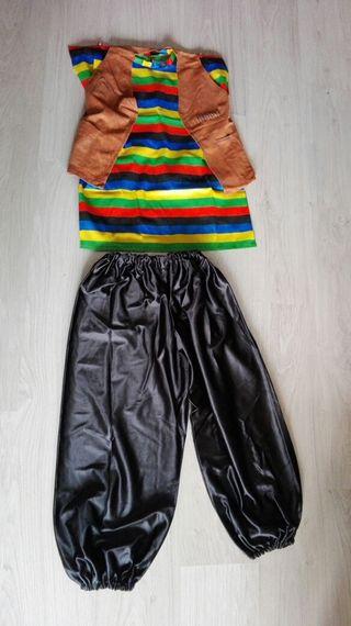 Disfraz pirata-corsario para 6 años