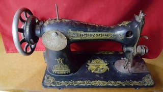 Màquina de coser antigua Singer