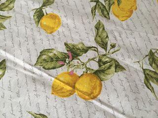 Mantel rectangular de limones, muy bonito. NUEVO