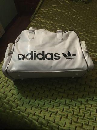 Adidas Qxsrywn8s Bolsa Vintage Deporte Blanca W9YDEH2I