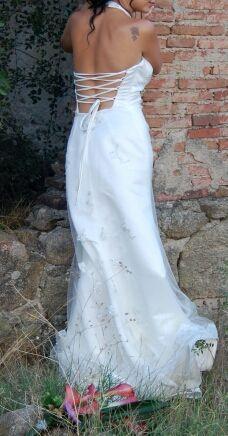 Vestido Novia Moderno De Segunda Mano Por 219 En Madrid En