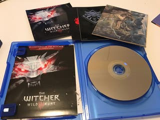Juego the witcher 3 ps4