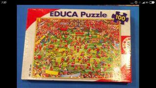 puzzle 100 pz