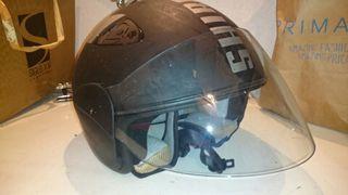 Casco moto Shiro Retro