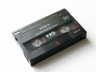Paso cintas de 8mm a Dvd y pendrive