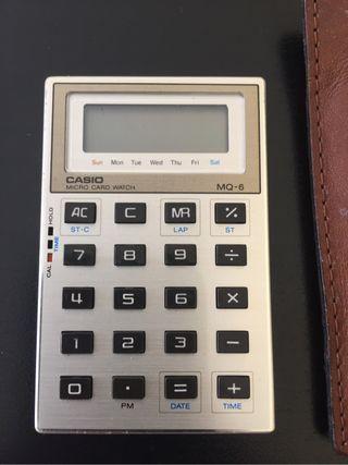 Calculadora reloj vintage 80's