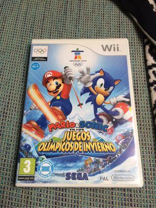 Wii Mario & sonic
