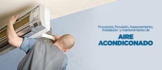 tecnico instalador aires acondicionados