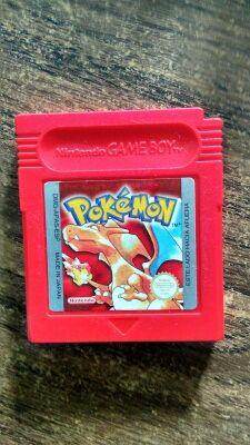 Pokémon edición Rojo !!!