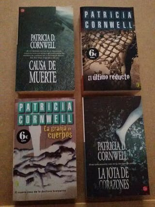 Pack libros patricia cornwell