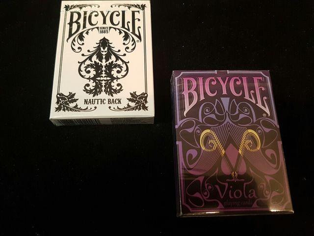 Pack 2 Barajas Póker Bicycle Nautic & Viola