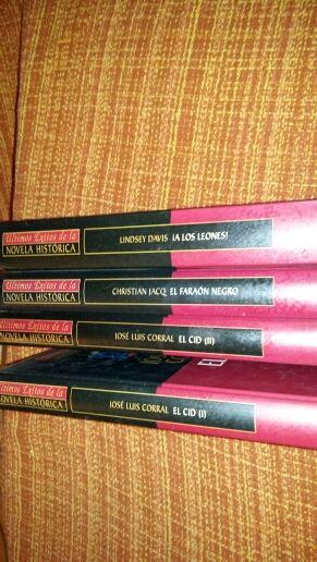 libros novela histórica