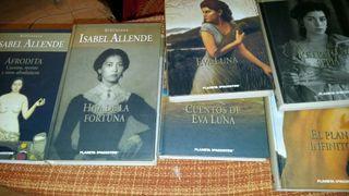 colección biblioteca isabel allende 10 libros