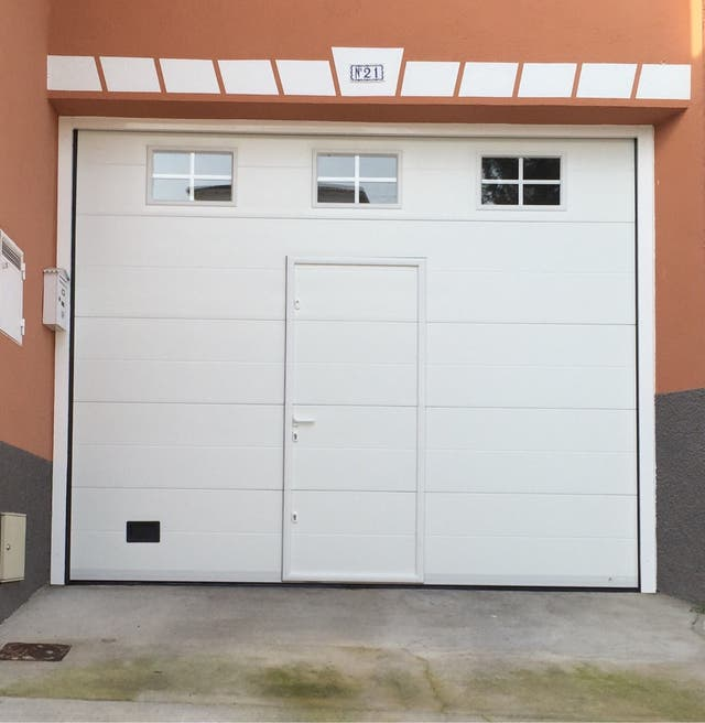 Puerta garaje seccional precio por m2 de segunda mano por 63 en villarejo de salvan s en - Puertas de garaje precios segunda mano ...