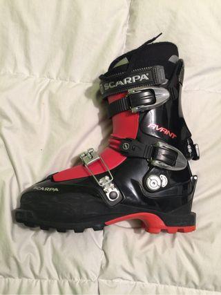 Botas esqui travesia scarpa
