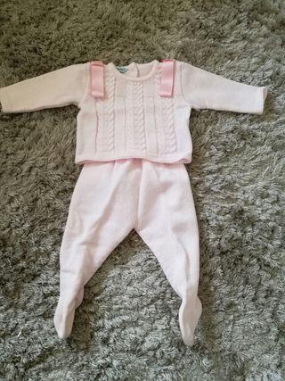 trajecito bebe niña 3meses