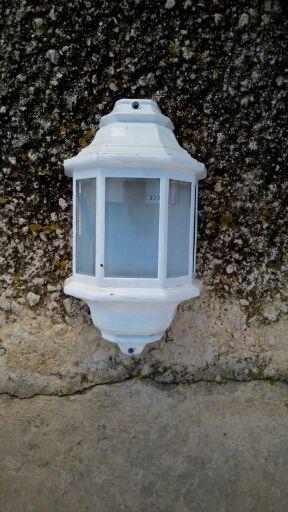 lampara exterior
