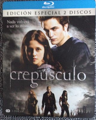 Crepusculo Blu-ray Disc