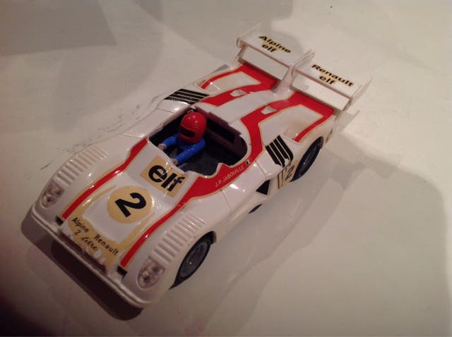 chasis Alpine Renault 2000 ref. 4053 Exin Scalextric
