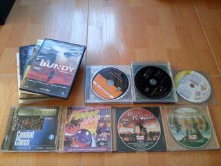 Lote juegos PC + regalos